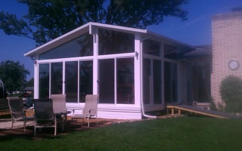 Mr. Enclosure Gable Sunroom