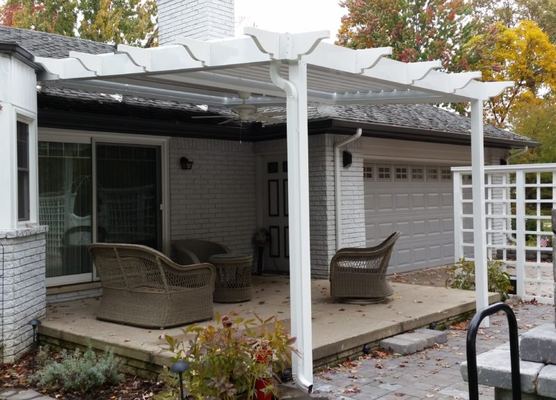 Custom Equinox Louvered Patio Cover In Troy, Mi