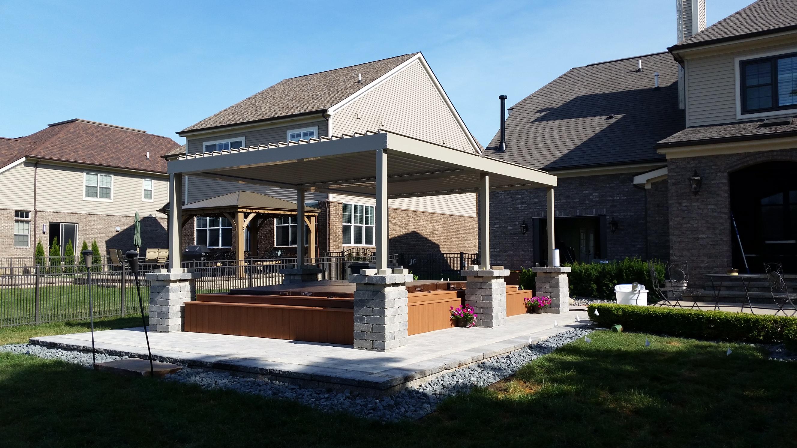 equinox louvered roof gallery mr enclosure michigan sunrooms