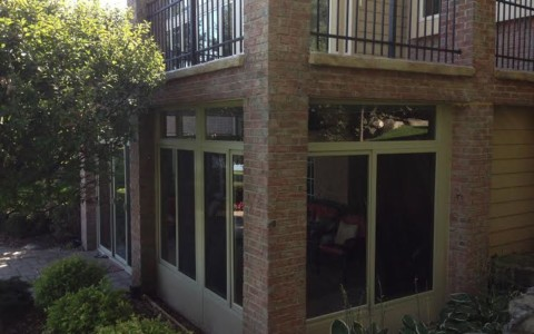 2 Columns without gutter - Mr  Enclosure Michigan Sunrooms|Awnings