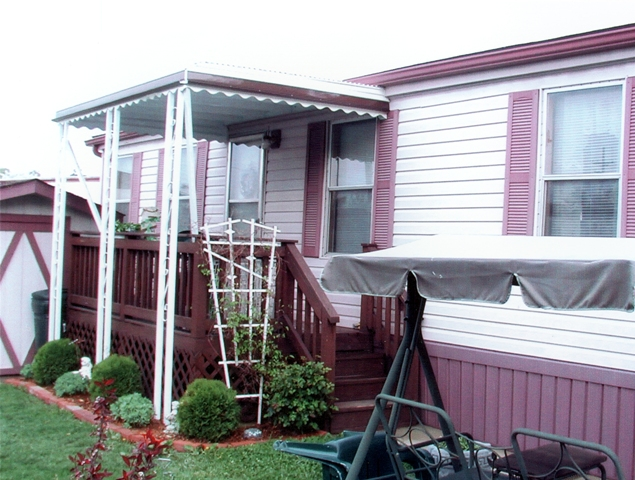 Mobile Home Porch Awning